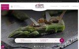 screenshot http://www.paris-traiteurs.com paris traiteurs : traiteur à paris au service des entreprises. réception et plateaux repas