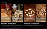 screenshot http://www.pavexparquet.com/parquet.htm bordures decoratifes pour parquet massif