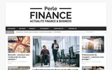 screenshot http://www.perlefinance.fr Cession d'entreprise