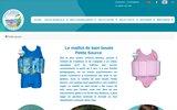 screenshot http://www.petitesource.com pertite source:maillot de bain enfant sécurisé