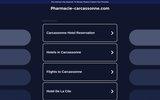 screenshot http://www.pharmacie-carcassonne.com pharmacie  carcassonne - pharmacie de garde carcassonne aude 11000