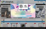 screenshot http://www.photoplus.fr tirage photo et albums photos