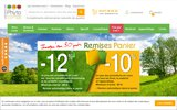 screenshot http://www.phyto-one.com/ Produits naturels