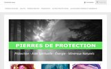 screenshot http://www.pierresdeprotection.fr Les pierres de protection