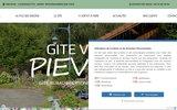 screenshot http://www.pieviche.fr gite de france des hautes vosges