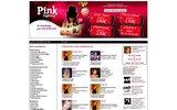screenshot http://www.pinkagency.com pink agency
