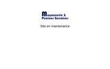 screenshot http://www.piscine-gers.fr Maçonnerie et piscines gersoises