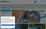 screenshot http://www.piscineo.com Liners et Bâches pour piscines