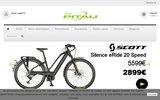 screenshot http://www.pitau.be cycles et vélos pitau