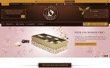screenshot http://www.planetechocolat.com/fr Chocolat belge