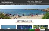 screenshot http://www.pleumeur-bodou.com pleumeur-bodou sur la côte de granit rose