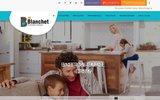 screenshot http://www.plombier-blanchet.com plombier blanchet clermont-ferrand