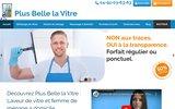 screenshot http://www.plusbellelavitre.fr plus belle la vitre