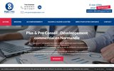 screenshot http://www.plusetpro.com Plus et Pro Conseil