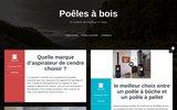 screenshot http://www.poeles-a-bois.net poele a bois invicta