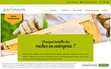 screenshot http://www.pollinium.fr pollinium, créateur de biodiversité