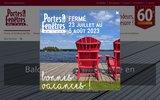 screenshot http://www.portesetfenetresdelest.com/ Portes et Fenêtres de l'Est est une entreprise familiale qui œuvre dans le