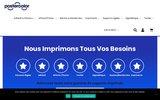 screenshot http://www.postercolor.fr Créez votre communication grand format avec Postercolor !