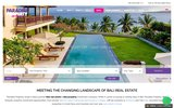 screenshot http://www.ppbali.com bali real estate paradise property