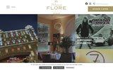 screenshot http://www.princesse-flore-hotel.com princesse flore hotel 4 etoiles clermont-ferrand
