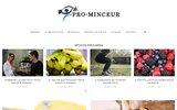 screenshot http://www.pro-minceur.com produits minceur - maigrir vite
