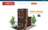 screenshot http://www.profilarmor.com profil armor - travaux d'accès difficiles