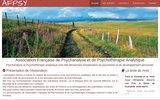 screenshot http://www.psychanalyse.asso.fr association francaise de psychanalyse et de psycho