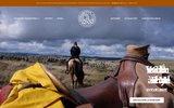 screenshot http://www.puech-maynade.com puech maynade, équitation western en france