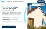 screenshot http://www.quelleenergie.fr quelle energie - des économies pour votre maison