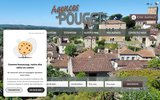screenshot http://www.quercyimmo.com agence immobiliere pouget