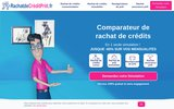 screenshot http://www.rachatdecreditpret.fr rachat de credit pret, courtier