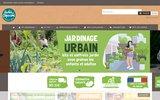 screenshot http://www.radisetcapucine.com/ graines et kits de plantation : radis et capucine