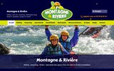 screenshot http://www.rafting-castellane.com rafting canyoning a castellane dans les gorges du verdon