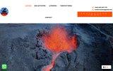 screenshot http://www.rando-volcan.com Accompagnateur en Montagne qualifié en spéléologie tunnels de lave