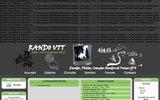 screenshot http://www.randonnee-vtt.fr randonnée vtt en franche comté