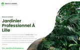 screenshot http://www.raoullejardinier.com raoul le jardinier