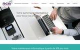 screenshot http://www.rcb-informatique.fr infogérance et maintenance informatique des entreprises dans les Yvelines.