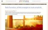 screenshot http://www.reiki-formation.ch andré baechler - le reiki décrit et enseigné