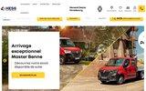 screenshot http://www.renault-strasbourg.fr renault retail group est