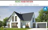 screenshot http://www.reno-habitation.com/ rénovation et aménagement pas de calais 62