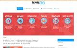 screenshot http://www.repareordi.fr Réparateur d'ordinateurs à Clamecy