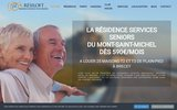 screenshot http://www.resiloft.fr/ résidence service senior
