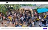 screenshot http://www.restaurant-dieulefit.com restaurant dieulefit - pizzeria drôme 26 - restaurant du parc