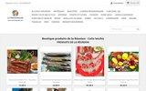 screenshot http://www.reunionboutik.com Produits de la Réunion - colis letchis fruits Reunion