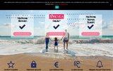 screenshot http://www.revea-vacances.fr/ révéa vacances :: location de vacances, mobil home, camping, gîtes et roulottes
