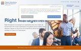 screenshot http://www.rightmanagement.fr/fr/ Right Management, filiale de Manpower