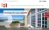 screenshot http://www.roche-france.fr/ roche france fabrique vos fenêtres et vos portes