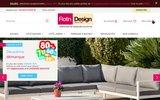 screenshot http://www.rotin-design.com chaises et fauteuils en rotin - rotin design