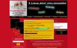 screenshot http://www.sacco-danse.com ecole de danse sacco située à lyon 69