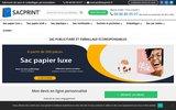 screenshot http://www.sacprint.fr sac publicitaire